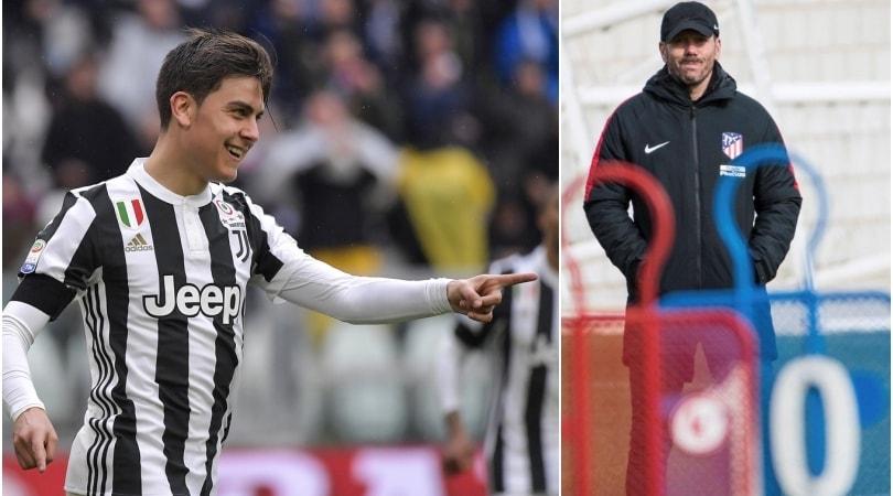 «Dybala, l'Atletico fa sul serio: 120 milioni per la Juventus»