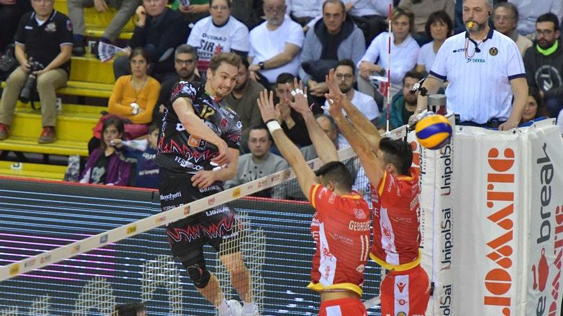 Volley: Play Off, Perugia in semifinale da grande