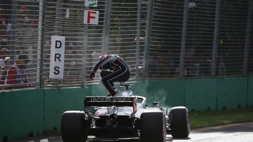 F1 Australia: Grosjean perdona i meccanici