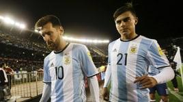 Argentina, Messi: «Nella Juventus Dybala gioca come faccio io, cerchiamo gli stessi spazi»
