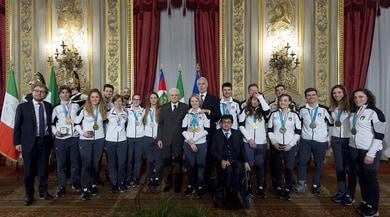 L'Italia Team diPyeongChang alQuirinale
