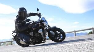 Honda CB1000R: le foto in azione