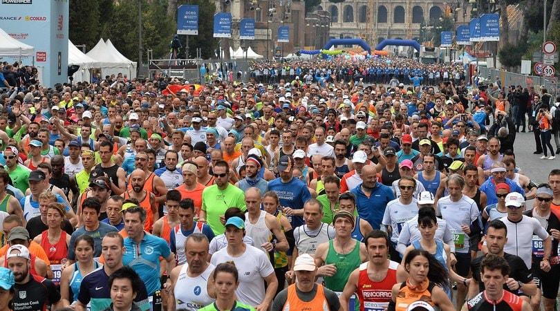 Maratona Roma da record: l'8 aprile più di 14000 iscritti