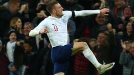 Inghilterra-Italia 1-1, Insigne risponde a Vardy