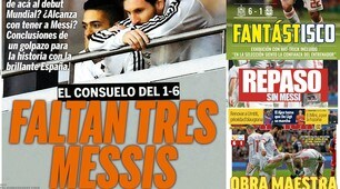 Spagna-Argentina, i media contro Sampaoli: «Ci mancano 3 Messi»