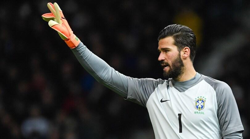 Roma, Alisson: «Riscattato il 7-1 con il mio Brasile, ora sotto con il Barça»
