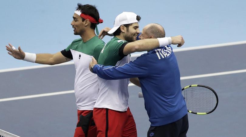 Tennis, Genova pronta per la Coppa Davis e la Fed Cup