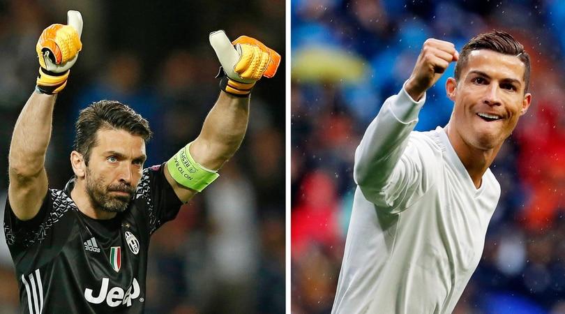 Juventus, Buffon pronto per Cristiano Ronaldo:«Solo Trezeguet cinico come lui»