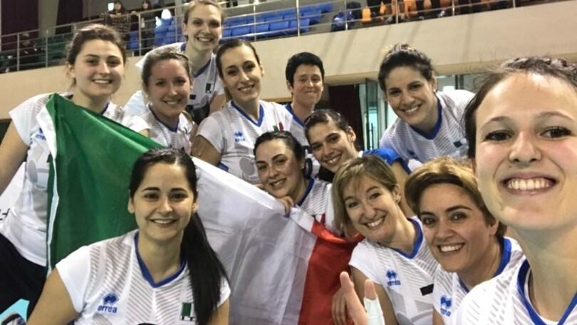 Sitting Volley: Qualificazioni Mondiali, esordio vincente per l'Italidonne