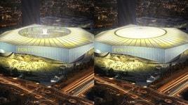 Il Nantes presenta il nuovo stadio con il tetto che si chiude