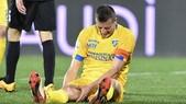 Serie B Frosinone, riuscito l'intervento per Daniel Ciofani