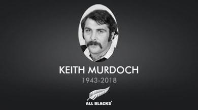 Rugby: addio Murdoch, il pilone ribelle degli anni settanta