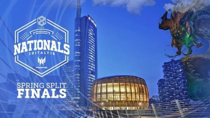 Sabato 31 la finale del PG Nationals Predator di League of Legends!