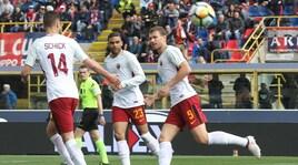Serie A, Bologna-Roma 1-1: Dzeko entra e segna