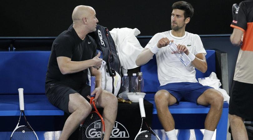 Tennis, divorzio traAgassi e Djokovic