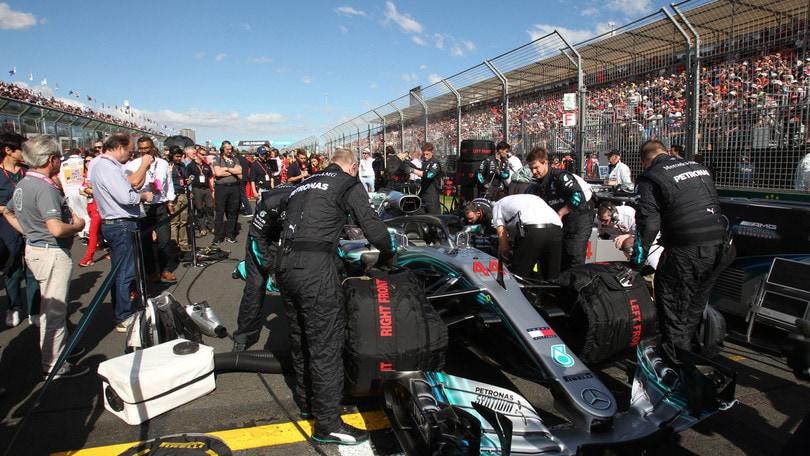 F1 Mercedes fiduciosa: «Il motore di Hamilton in buone condizioni»