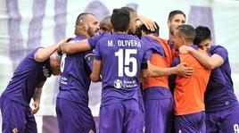 Quarto successo consecutivo per la Fiorentina: 2-0 al Crotone