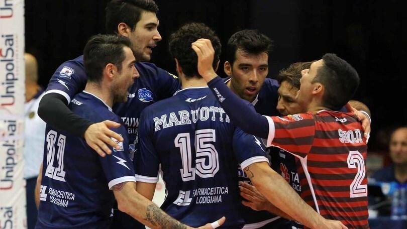 Volley: Superlega Play Off Challenge, il primo round è di Monza e Latina