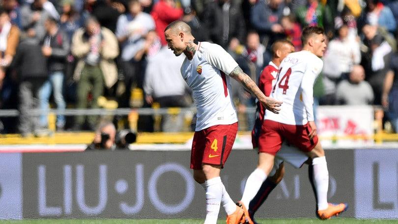 Roma, Nainggolan ha poche speranze di giocare con il Barcellona