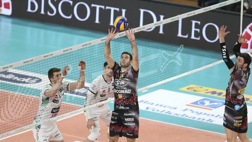 Volley: Play Off , Gara 2 Semifinali: Trento e Modena pareggiano i conti