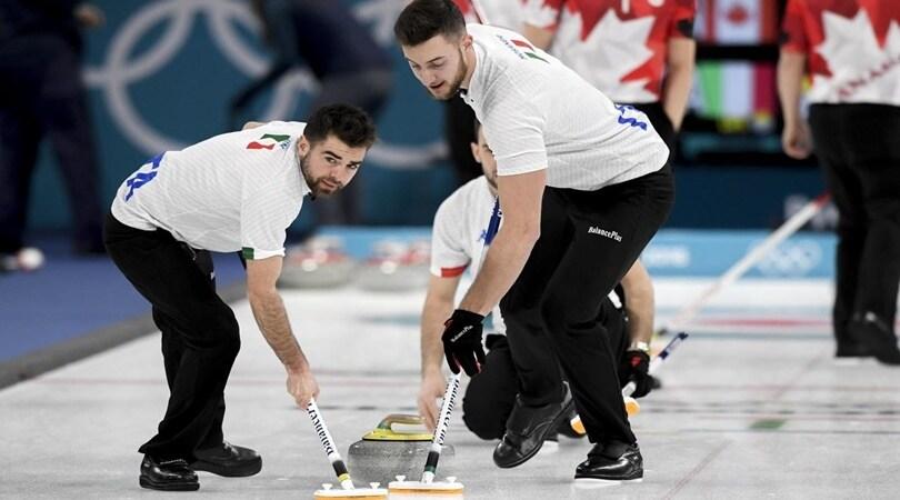 Curling, ai mondiali l'Italia sfiora l'impresa contro il Canada