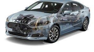 Ford Mondeo Hybrid: foto