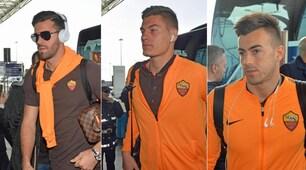 La Roma vola a Barcellona: la concentrazione è massima