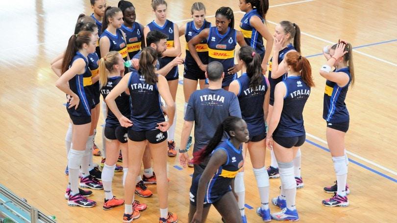 Volley: l'Under 17 Femminile in raduno al Centro Pavesi