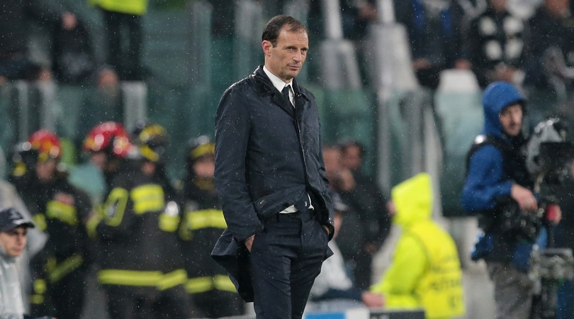 Juventus, Allegri: «A differenza nostra, loro non hanno sbagliato nulla»