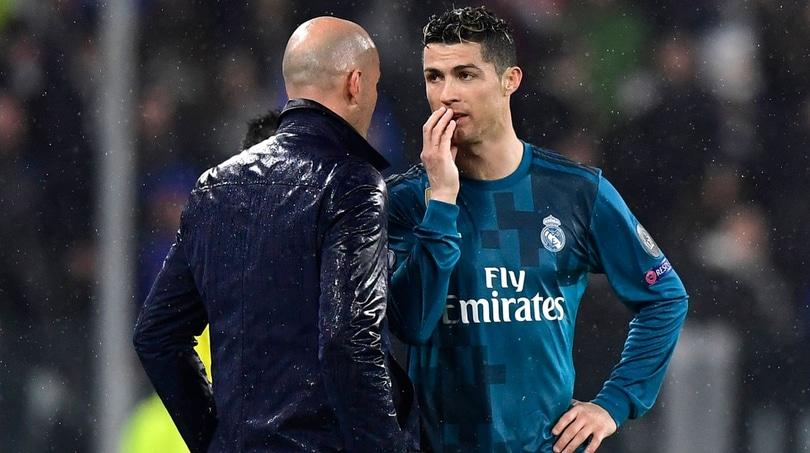 Real Madrid, Zidane fa ironia: «Cristiano Ronaldo in realtà ha sbagliato un gol facile»