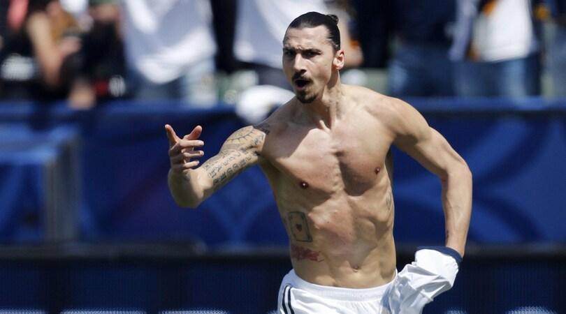 Ibrahimovic scherza ma non troppo: «Cr7? Bel gol ma ci provi da 40 metri»