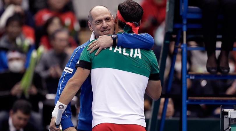 Coppa Davis, Noah: «L'Italia è temibile»