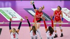 Volley: A2 Femminile, Baronissi passeggia sui resti della VolAlto