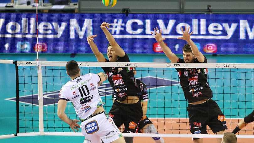 Volley: Champions League, Civitanova vince il derby con Trento