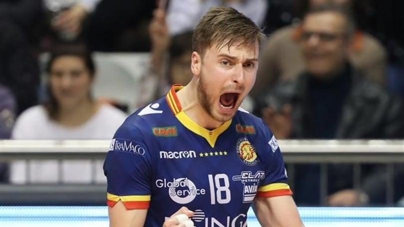 Volley: Challenge Cup, la Bunge vince il primo round con l'Olympiacos
