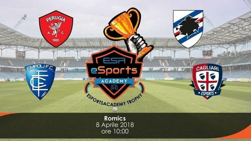 Empoli, Perugia, Samp e Cagliari: al Romics è grande eSport!