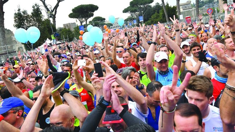 Una domenica di corsa con la Maratona di Roma