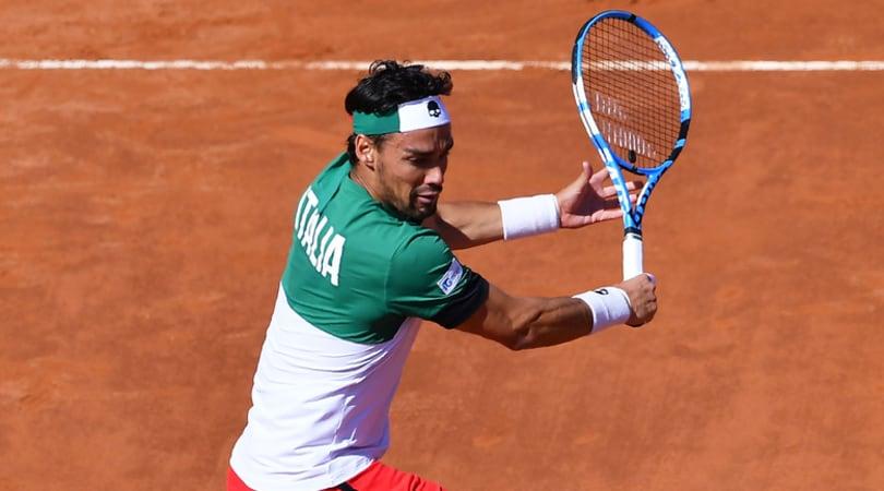 Coppa Davis, Italia-Francia 1-1: Fognini piega Chardy e pareggia