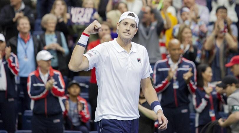 Tennis: Coppa Davis, gli Stati Uniti in vantaggio 2-0 sul Belgio