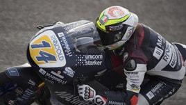 Moto3 Argentina, qualifiche: pole di Arbolino, comanda l'Italia