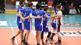Volley: A2 Maschile, Play Out: il Club Italia fa sua Gara 1 contro Catania