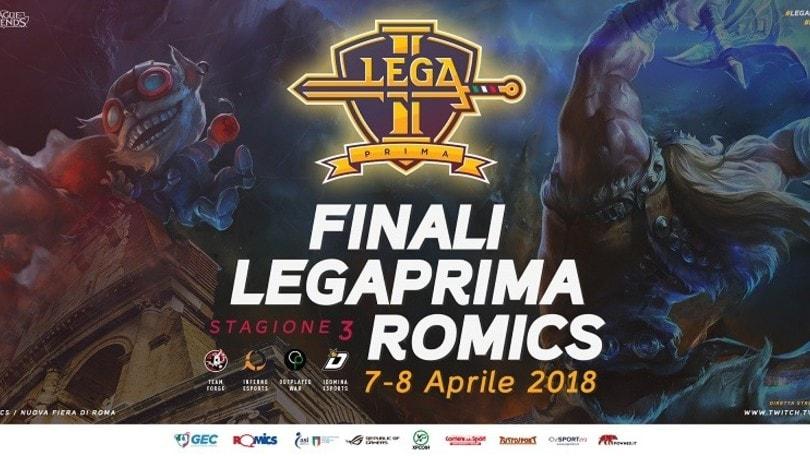 Finale Lega Prima - Sarà ancora Outplayed contro Team Forge