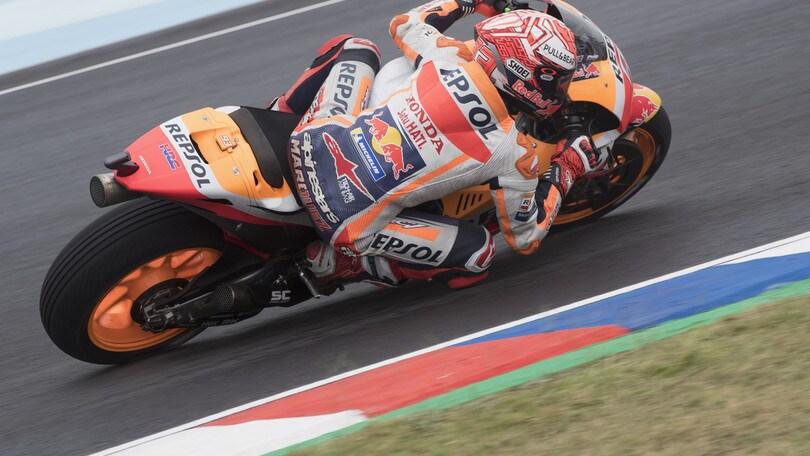 MotoGp Argentina: Marquez è il più veloce nel warm up, Rossi 8° - Corriere dello Sport