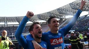 Napoli-Chievo 2-1: al 93' esplode la festa al San Paolo