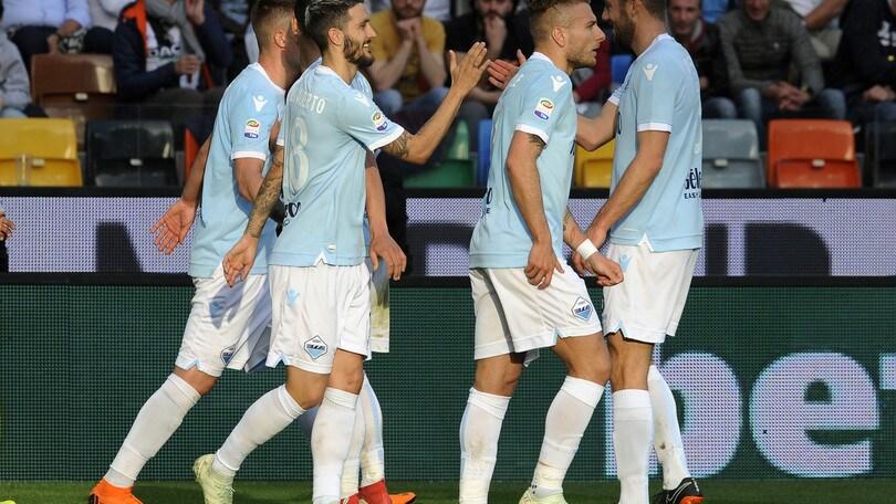 Serie A Udinese-Lazio 1-2, il tabellino