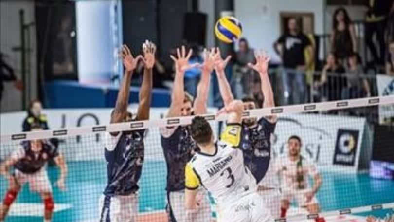 Volley: A2 Maschile, Quarti Play Off, Bergamo in Semifinale, due sfide a Gara 3