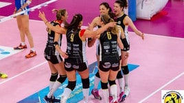 Volley: A2 Femminile, Brescia in festa, conquistata la Serie A1