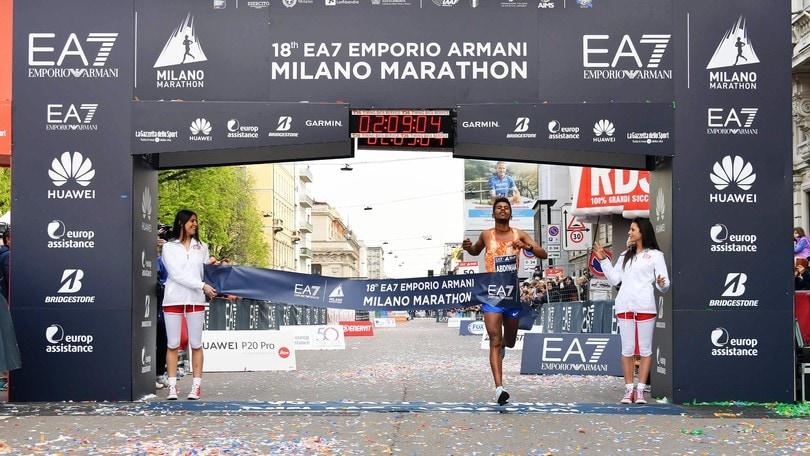 EA7 Milano Marathon, cresce nei numeri ma non  c'è il record del tempo