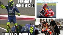 Marquez nel mirino dei social: i meme sul Gp d'Argentina