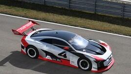 Audi e-tron Vision Gran Turismo: foto